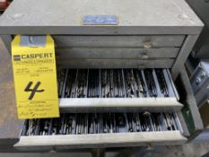Drill Cabinet with Numbered Drills #1-49