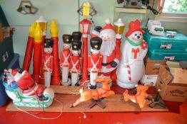 Lot - Christmas Decorations