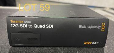 2019 Blackmagic SDI converterm Teranex Mini, SN: 5643763, 5643797