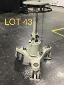 Vinten Lightweight Pedestal, Teal Lightwight, SN: 3197-363