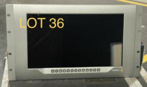 2019 Blackmagic Smart View Monitor, 4k 12G SDI ultra HD, SN: 5701831
