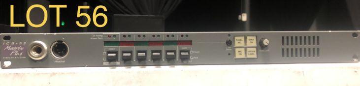 Matrix Plus Intercom System, M: ICS-52, SN: 650992