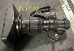 Canon Camera Lens, HJ 21x7.8 B, SN: 310001AS