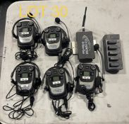 Temepst Belt Pack with battery charging system and antenna, M: GS-2066-CC¨, SN: 86792974705