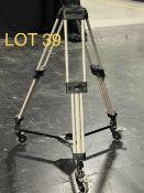 2002 Vinten Broadcasting Camera Tri Pods, SN: 3319-16692