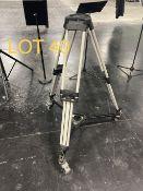 2002 Vinten Broadcasting Camera Tri Pods, SN: 3319-16740