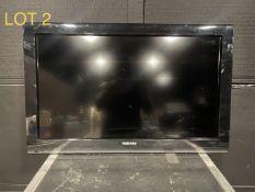 Toshiba Monitor, M: 32C120U1, SN: C17231C07632A1
