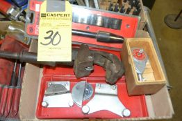 LOT - Misc. C-Clamps, Pipe Cutter, Bender, Etc.