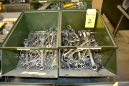 LOT - Wrenches in (2) Bins (No Bins Included)