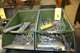 Lot - Socket Wrenches in (2) Bins (No Bins Included)