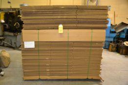Corrugated Boxes (42-1/4 x 24-3/8 x 29-3/4) 78 Pieces