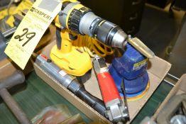 LOT - (4) Pcs, Air & Cordless Tools