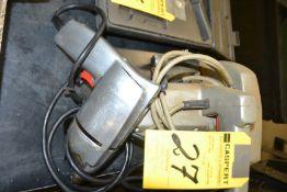 Electric Circular Saw & Drill