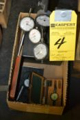 Lot - Assorted Dial Guages and Stand