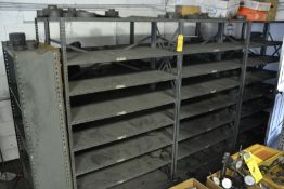 Sections of Metal Shelving