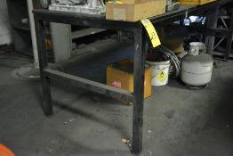 "Steel Table, 36"" x 96"""
