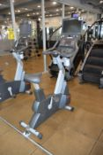 Life Fitness CLSC Upright Stationary Bike with HDTV