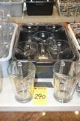 (7) Large Glass Water Pitchers