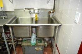 2-Compartment Sink
