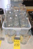 (18)Small Glass Water Pitchers