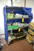 "(2) Rolling Eagle Rack Shelves, 46""W x 20""D"