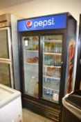 True 2-Door Beverage Refrigerator, GDM-33-LD