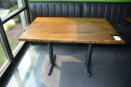 "30"" x 48"" Wood Top Double Pedestal Tables"