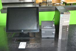 Computer Terminals consisting of: ELO Touch Screen Monitor, Epson Receipt Printer, Dell Optiplex