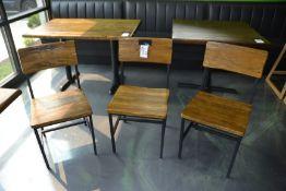 Wood & Metal Frame Chairs