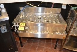 1-Compartment Bar Sink with Speed Rail