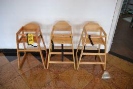 Wood High Chairs