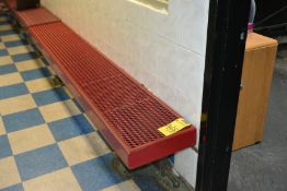 Metal Coated 8' Benches