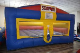Inflatable STAR-WALK Slide with (1) Blower