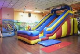 Inflatable Slide with (2) Blowers