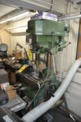 Jet-16 12-Speed Drilling & Milling Machine with R8 Spindles
