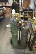 Oxygen & Aceteleyne Torch Set Up (No Tanks)