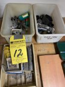 LOT - Carbide Inserts, Router Bits, Hole Saws
