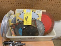 LOT - Assorted Saw & Bandsaw Blades