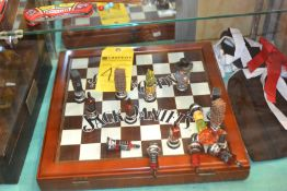 Jack Daniels Chess Board