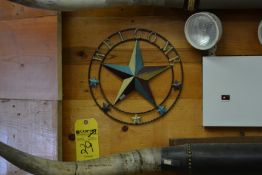 Wall Mounted Welcome/Star Signs