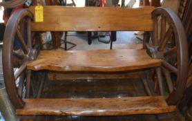 Antique Wooden Bench 5'