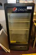 True 1-Door Glass Refrigerated Beverage Case, M: GDM-10