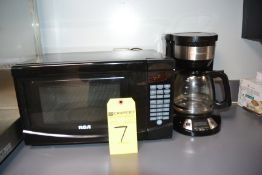 LOT - RCA Microwave Oven and Hamilton Beach Coffee Brewer
