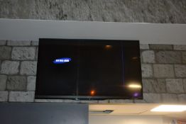 "Sharp Aquos 62"" Wall Hanging TV"