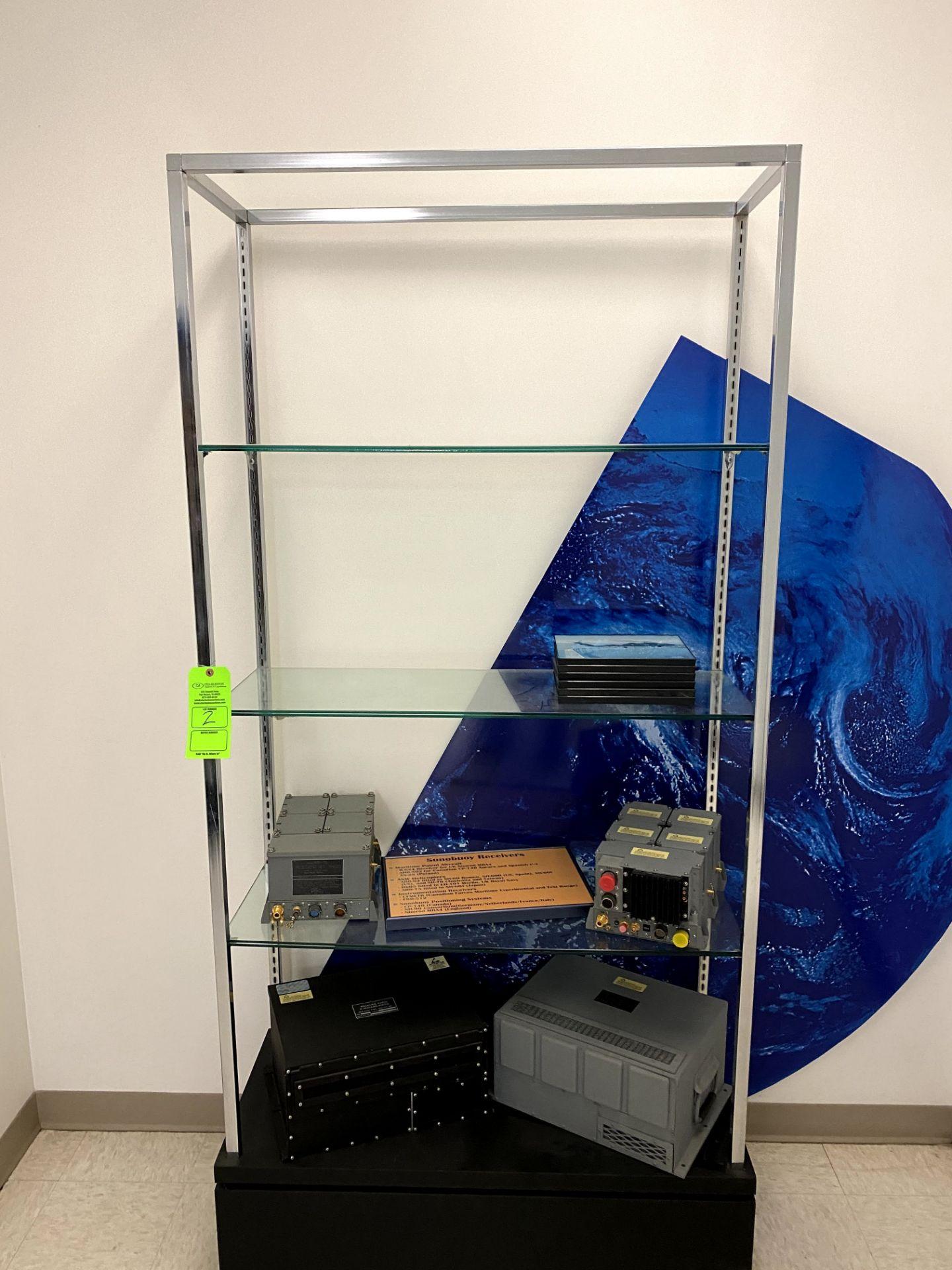 GLASS DISPLAY SHELF (SHELF ONLY) -- (7625 OMNITECH PLACE VICTOR NEW YORK)
