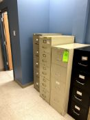 (6) VARIOUS VERTICAL FILING CABINET(S) -- (7625 OMNITECH PLACE VICTOR NEW YORK)