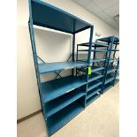 (2) HEAVY DUTY PENCO PAN SHELVING -- (7625 OMNITECH PLACE VICTOR NEW YORK)