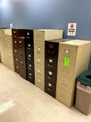 (8) VARIOUS VERTICAL FILING CABINET(S) -- (7625 OMNITECH PLACE VICTOR NEW YORK)