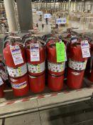 (8) AMEREX FIRE EXTINGUISHERS 20 LBS