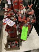 (8) SILCO FIRE EXTINGUISHERS 10 LB